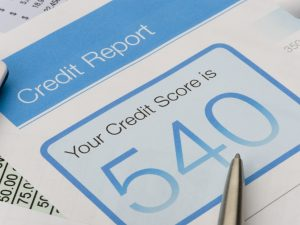 Credit score is important in business loans.