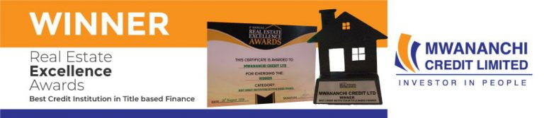 MWANANCHI CREDIT LIMITED SCOOPS ANOTHER PRESTIGIOUS AWARD IN THE REAL ESTATE SECTOR