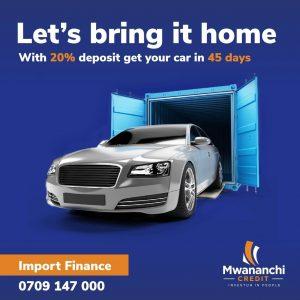 car financing in Mombasa