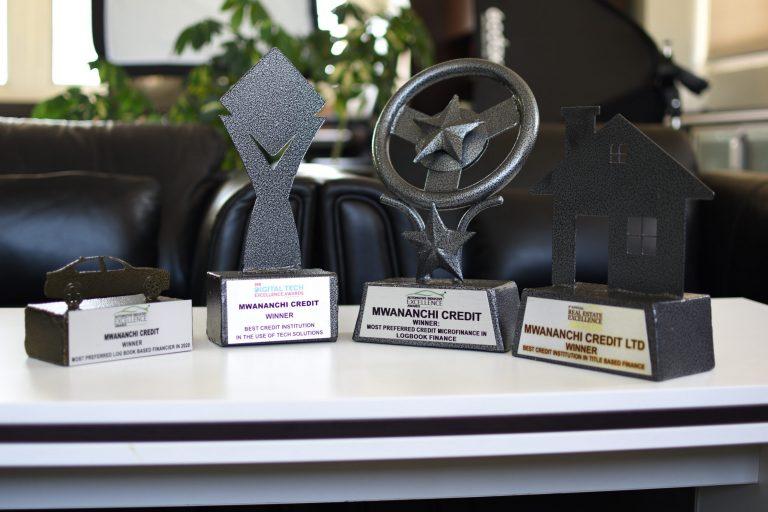 Mwananchi Credit Bags Award as the Best logbook Financier 2020