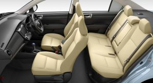 Toyota axio interior